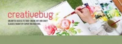 CreativeBug- Craft Classes & Workshops